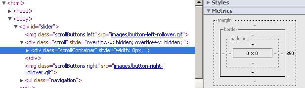 Css ที่ทำงานเพี้ยน ใน GoogleCrome